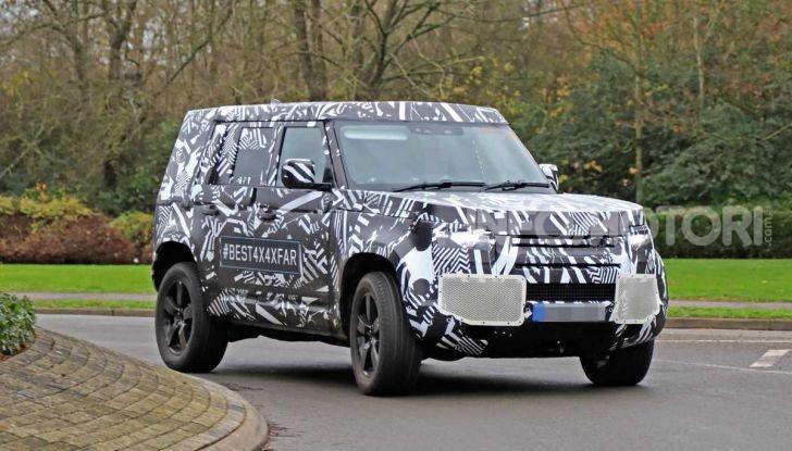 Nuova Land Rover Defender 2020, prime immagini dei test dinamici - Foto 22 di 26