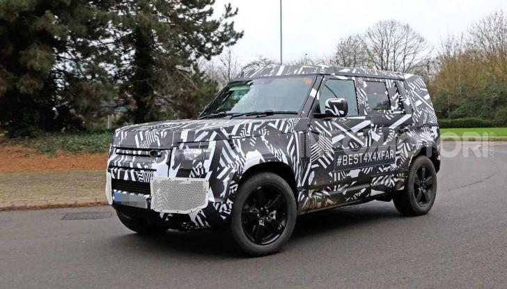 Nuova Land Rover Defender 2020, prime immagini dei test dinamici - Foto 23 di 26