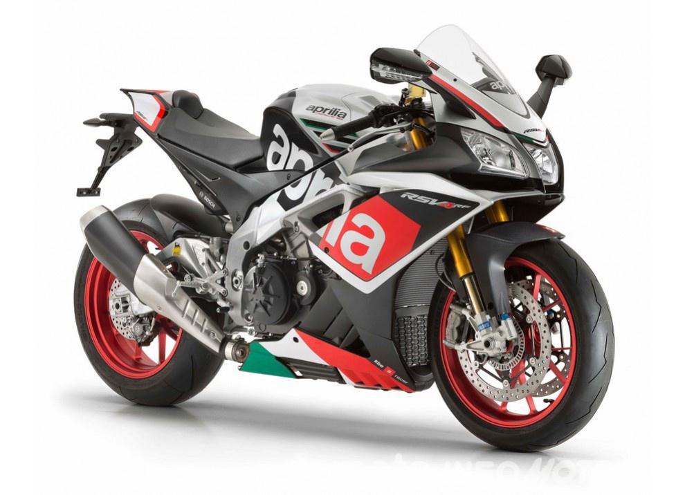 Nuova Aprilia RSV4 RF 2016: la supersportiva da 230CV