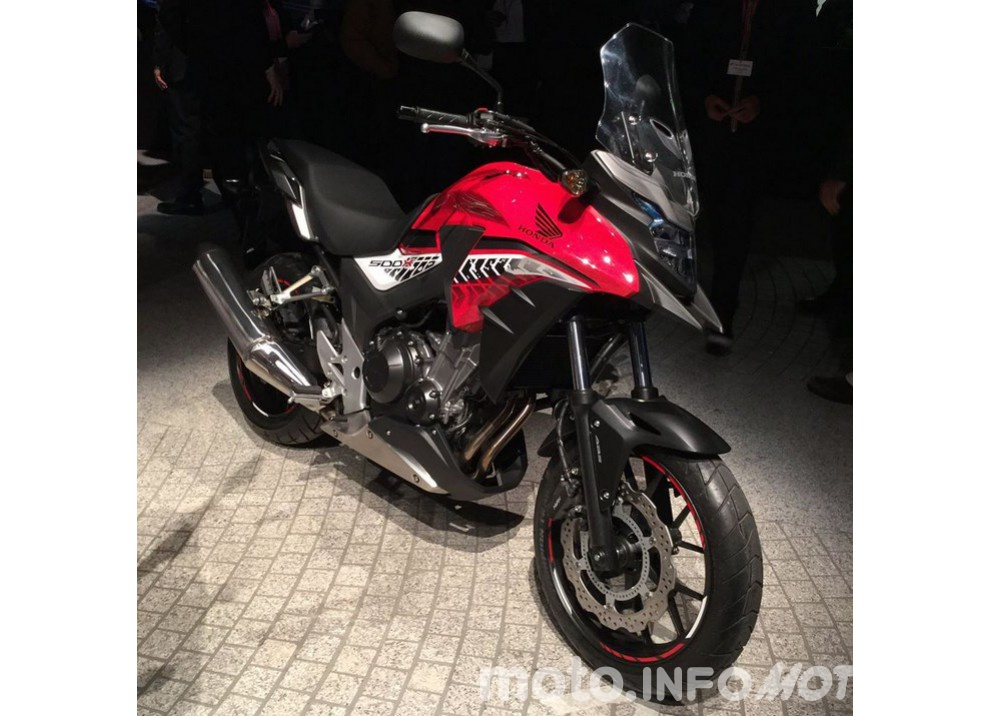 Nuova Honda CB500X 2016: con la patente A2 si và ovunque
