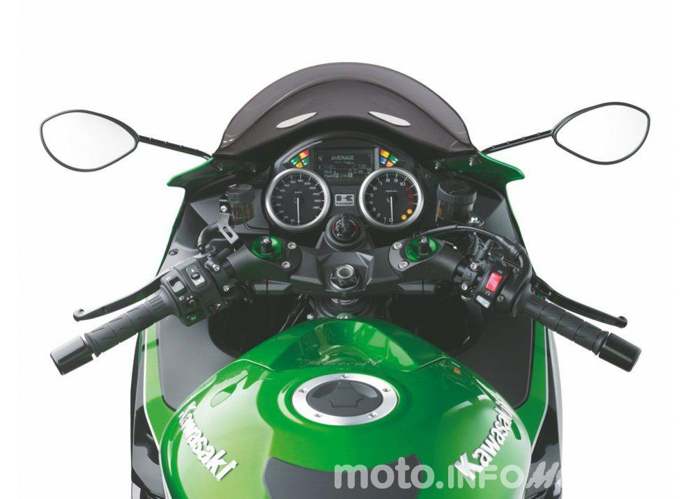 Nuova Kawasaki ZZR 1400 2016: Euro4, ma con 200CV - Foto 18 di 29