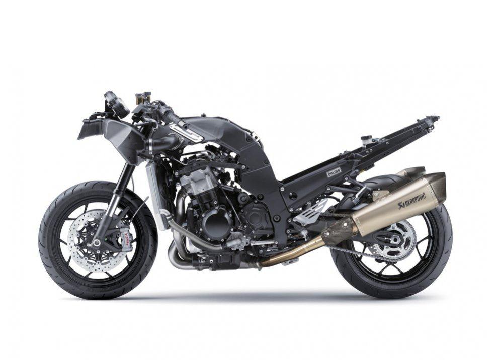 Nuova Kawasaki ZZR 1400 2016: Euro4, ma con 200CV - Foto 24 di 29