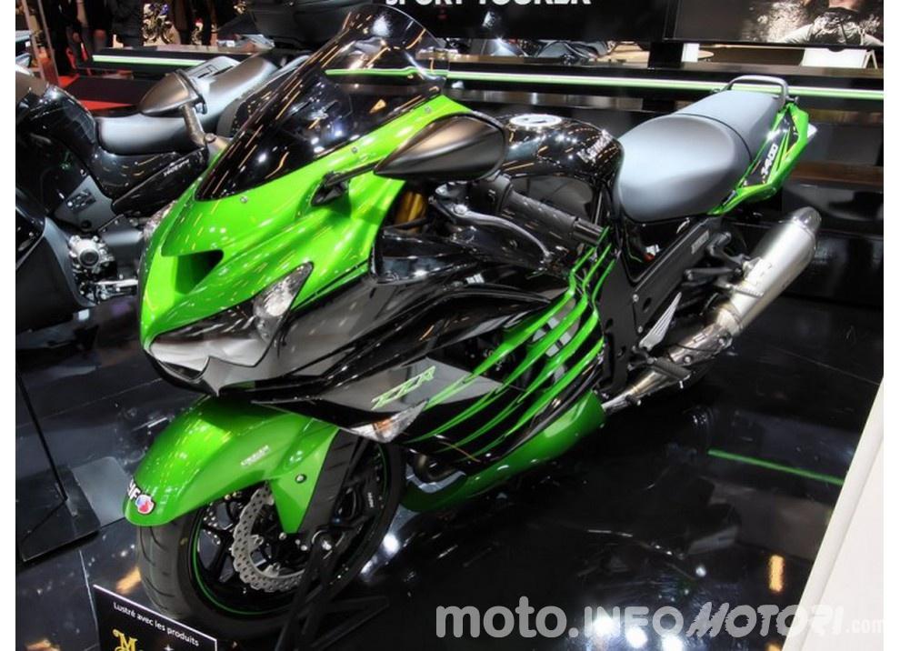 Nuova Kawasaki ZZR 1400 2016: Euro4, ma con 200CV - Foto 6 di 29