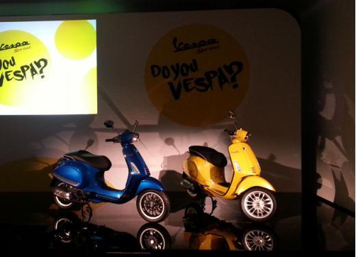 Nuova Piaggio Vespa Sprint 125 test ride - Foto 8 di 11