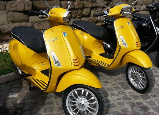 Nuova Piaggio Vespa Sprint 125 test ride - Foto 2 di 11