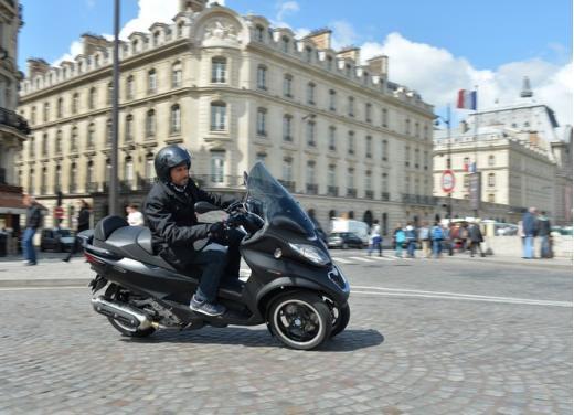 Nuovo Piaggio MP3 500 ABS ASR test ride - Foto 3 di 13