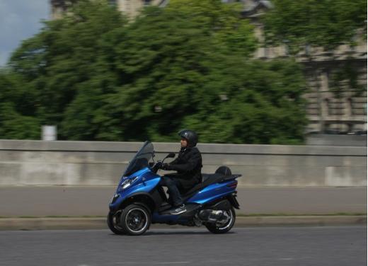 Nuovo Piaggio MP3 500 ABS ASR test ride - Foto 5 di 13