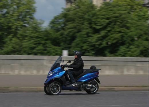 Nuovo Piaggio MP3 500 ABS ASR test ride - Foto 6 di 13
