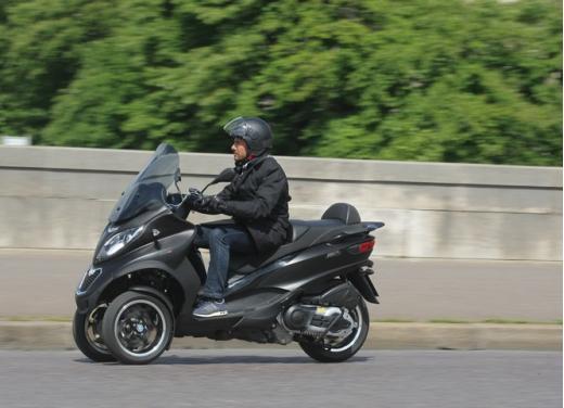 Nuovo Piaggio MP3 500 ABS ASR test ride - Foto 4 di 13