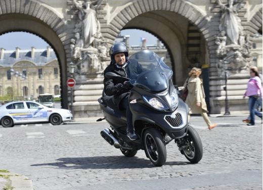 Nuovo Piaggio MP3 500 ABS ASR test ride