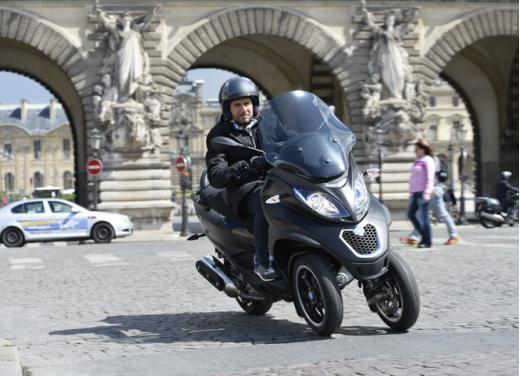 Nuovo Piaggio MP3 500 ABS ASR test ride - Foto 7 di 13
