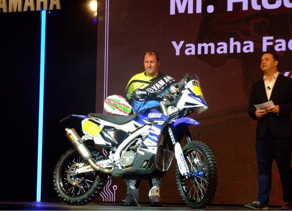 Nuovo Yamaha WR450 Rally Pronto Dakar