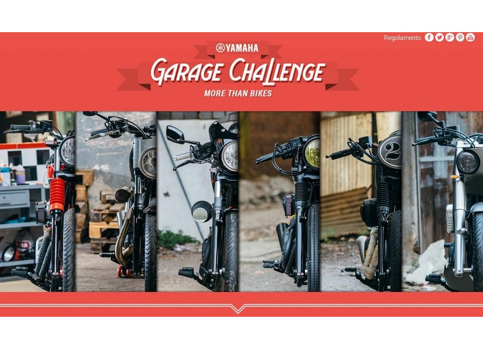 Garage Challenge Yamaha: sei special XV950 e una sola vincitrice