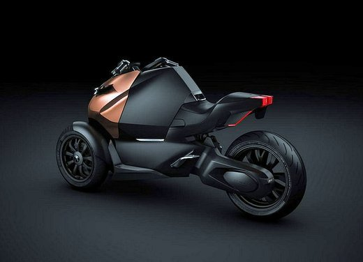 Peugeot supertrike Onyx Concept Scooter - Foto 15 di 21