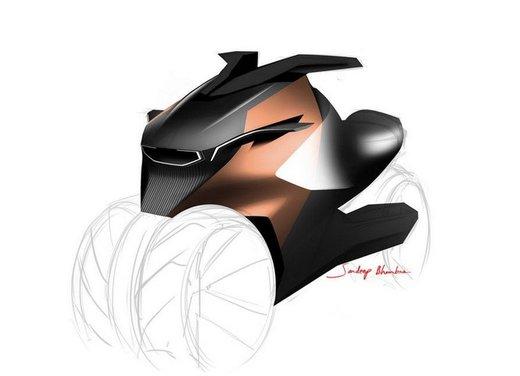 Peugeot supertrike Onyx Concept Scooter - Foto 16 di 21