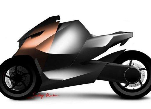 Peugeot supertrike Onyx Concept Scooter - Foto 17 di 21