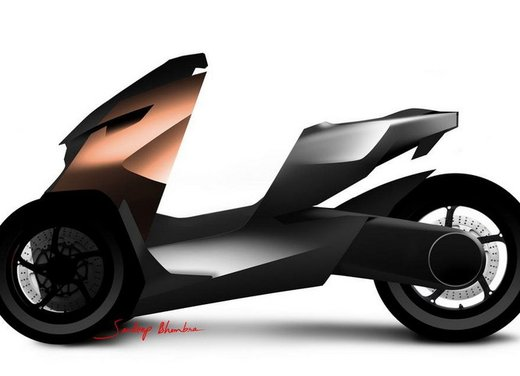 Peugeot supertrike Onyx Concept Scooter - Foto 18 di 21