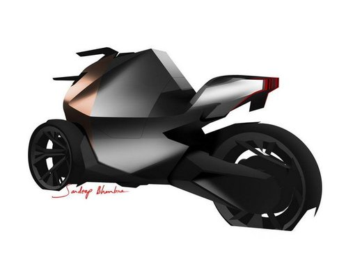 Peugeot supertrike Onyx Concept Scooter - Foto 20 di 21