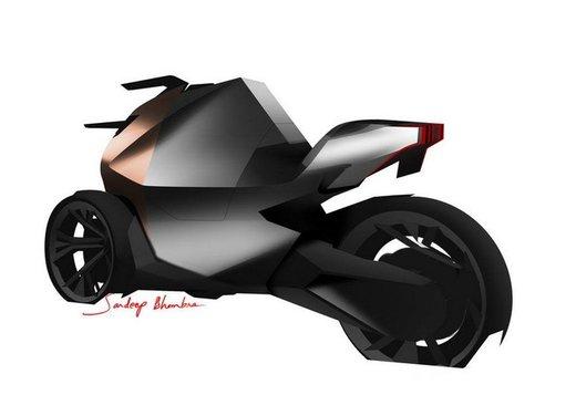 Peugeot supertrike Onyx Concept Scooter - Foto 20 di 21