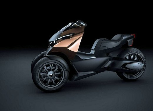 Peugeot supertrike Onyx Concept Scooter - Foto 11 di 21