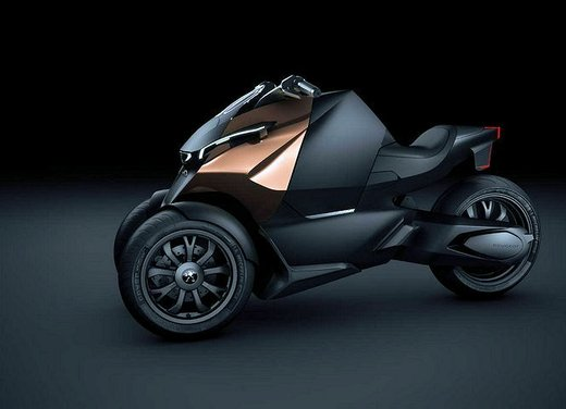 Peugeot supertrike Onyx Concept Scooter - Foto 12 di 21