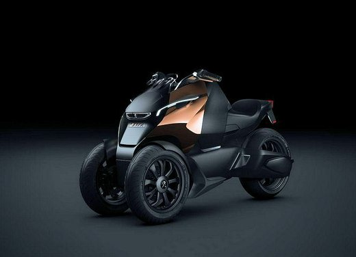 Peugeot supertrike Onyx Concept Scooter - Foto 13 di 21