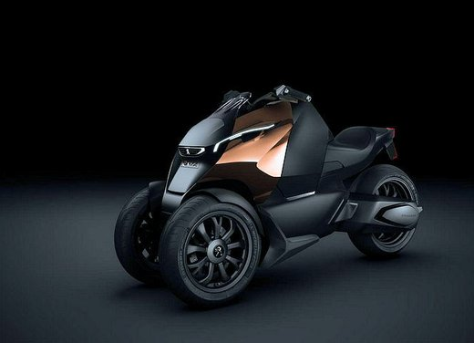 Peugeot supertrike Onyx Concept Scooter - Foto 14 di 21