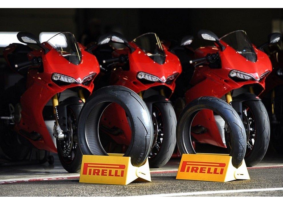 Pirelli Diablo Supercorsa SP di serie sulle nuove Panigale
