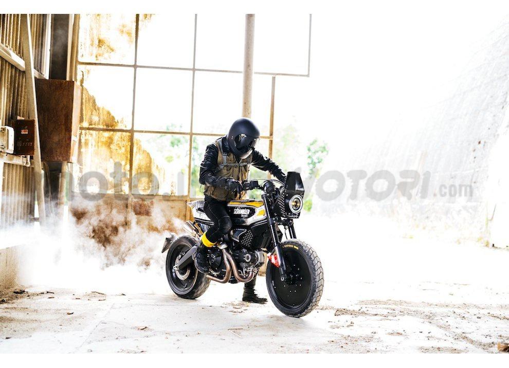 """Pirelli per la Ducati Scrambler special """"SC-Rumble"""""""