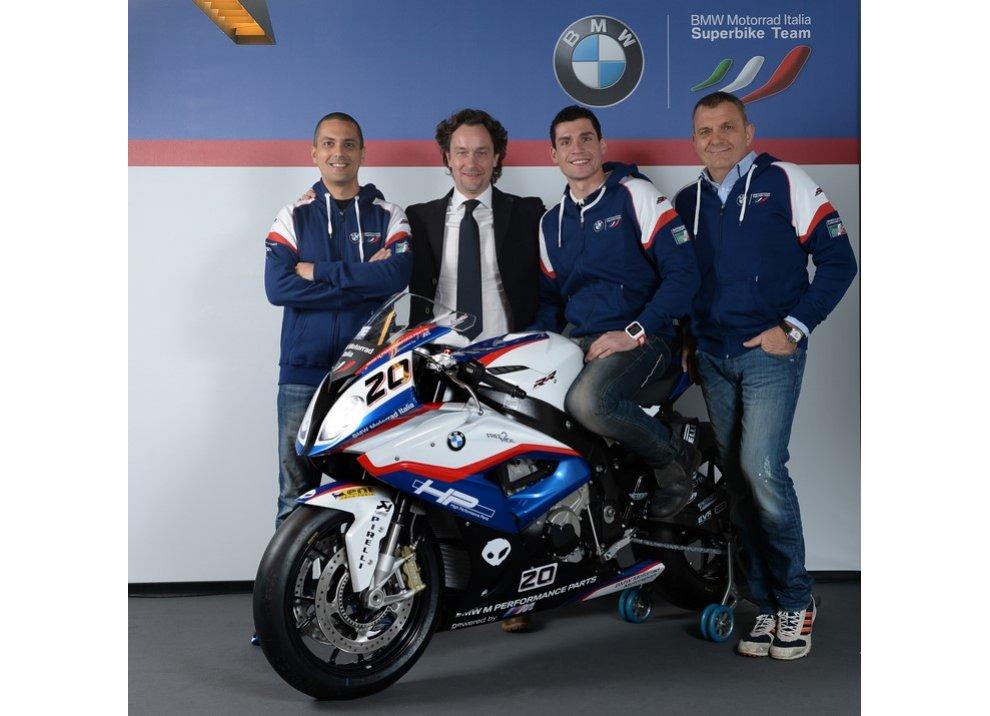 Superbike 2015, presentato il Team BMW Motorrad Italia - Foto 2 di 22