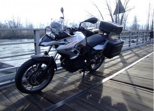 Provata su strada la Bmw F700GS - Foto 9 di 40