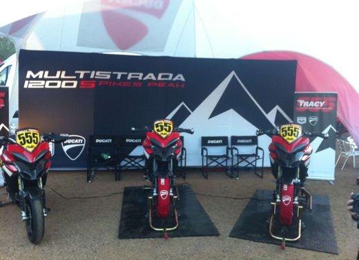 Ducati Multistrada 1200 S torna alla Pikes Peak 2012 - Foto 17 di 34