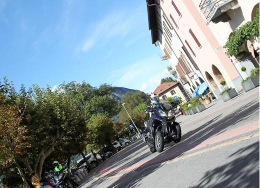 Quadro 350S: test ride a tre ruote - Foto 20 di 38