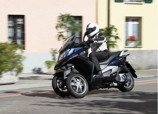 Quadro 350S: test ride a tre ruote - Foto 6 di 38
