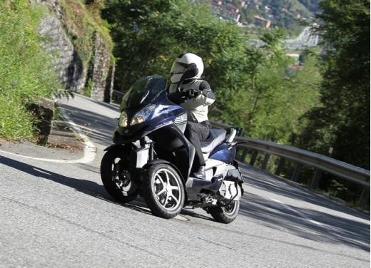 Quadro 350S: test ride a tre ruote