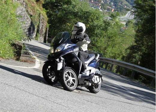 Quadro 350S: test ride a tre ruote