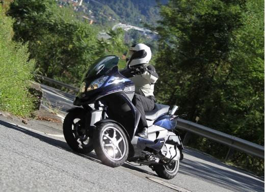 Quadro 350S: test ride a tre ruote - Foto 12 di 38