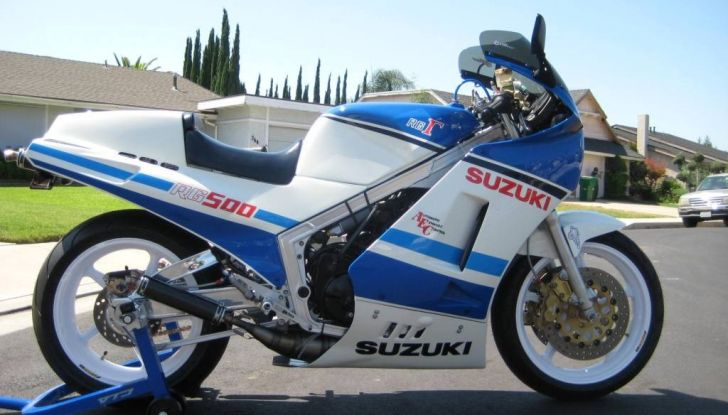 Yamaha RD 500 e Suzuki RG 500 Gamma: race replica da urlo (e da sogno) - Foto 5 di 10