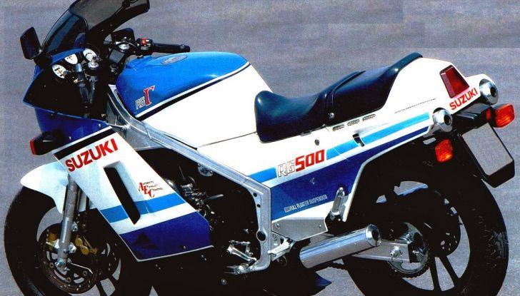 Yamaha RD 500 e Suzuki RG 500 Gamma: race replica da urlo (e da sogno) - Foto 10 di 10