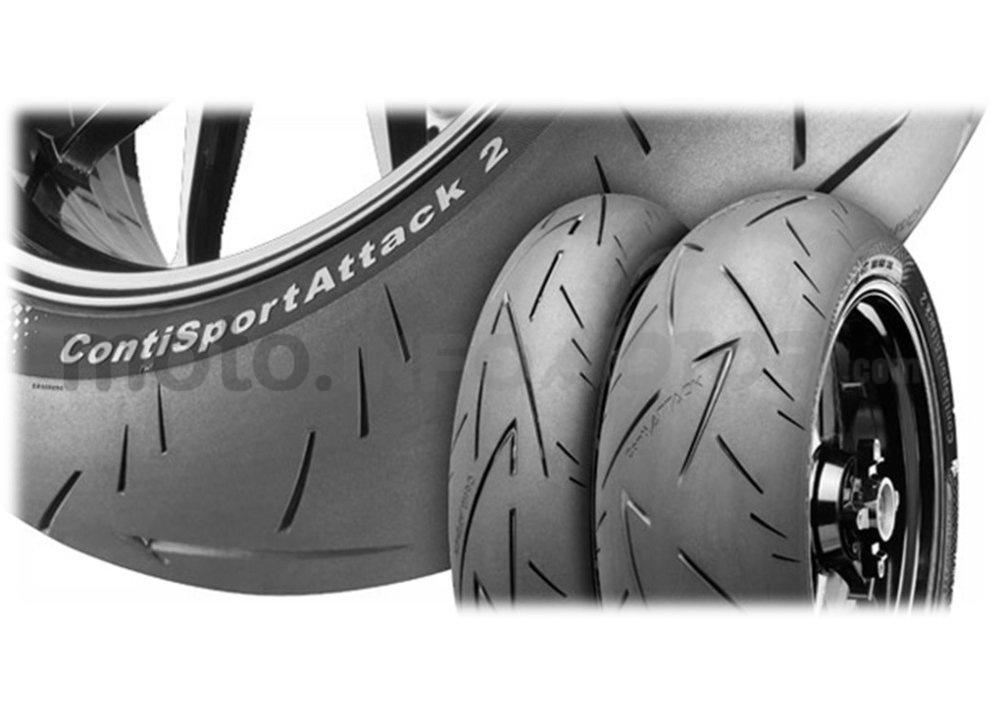 Recensione pneumatici Conti Sport Attack 2 su Yamaha R6, strada e pista - Foto 3 di 5