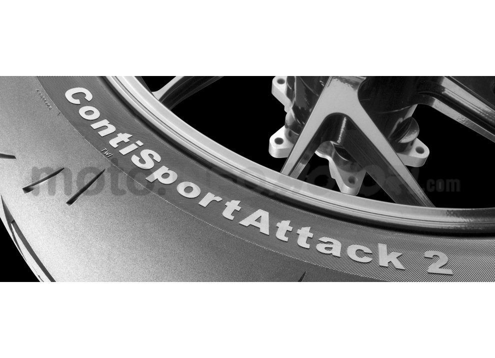 Recensione pneumatici Conti Sport Attack 2 su Yamaha R6, strada e pista - Foto 1 di 5