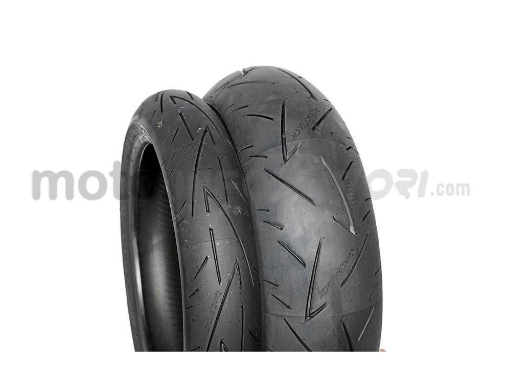 Recensione pneumatici Conti Sport Attack 2 su Yamaha R6, strada e pista - Foto 4 di 5