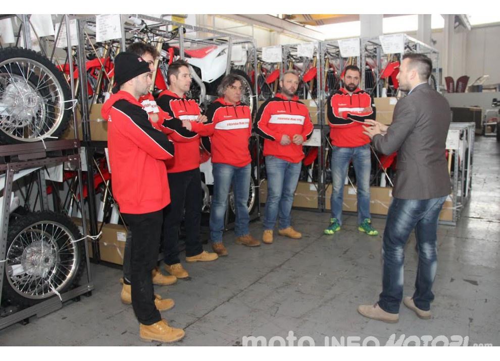 RS Moto Honda Rally Team insieme a RedMoto anche per la stagione 2016 - Foto 6 di 8