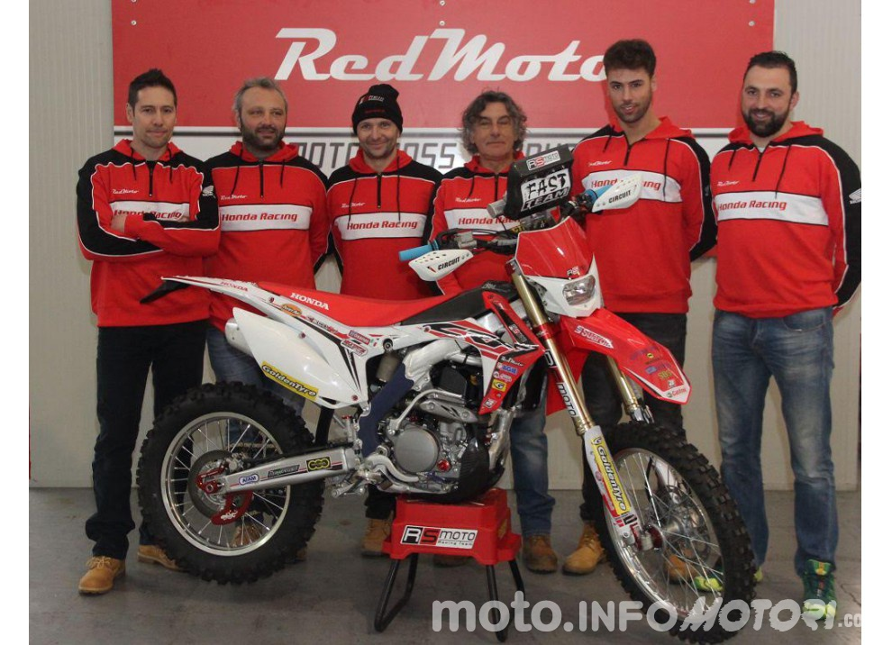 RS Moto Honda Rally Team insieme a RedMoto anche per la stagione 2016