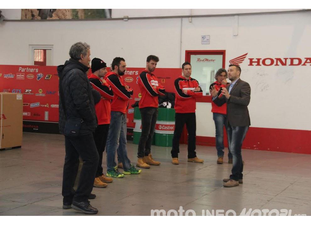 RS Moto Honda Rally Team insieme a RedMoto anche per la stagione 2016 - Foto 8 di 8