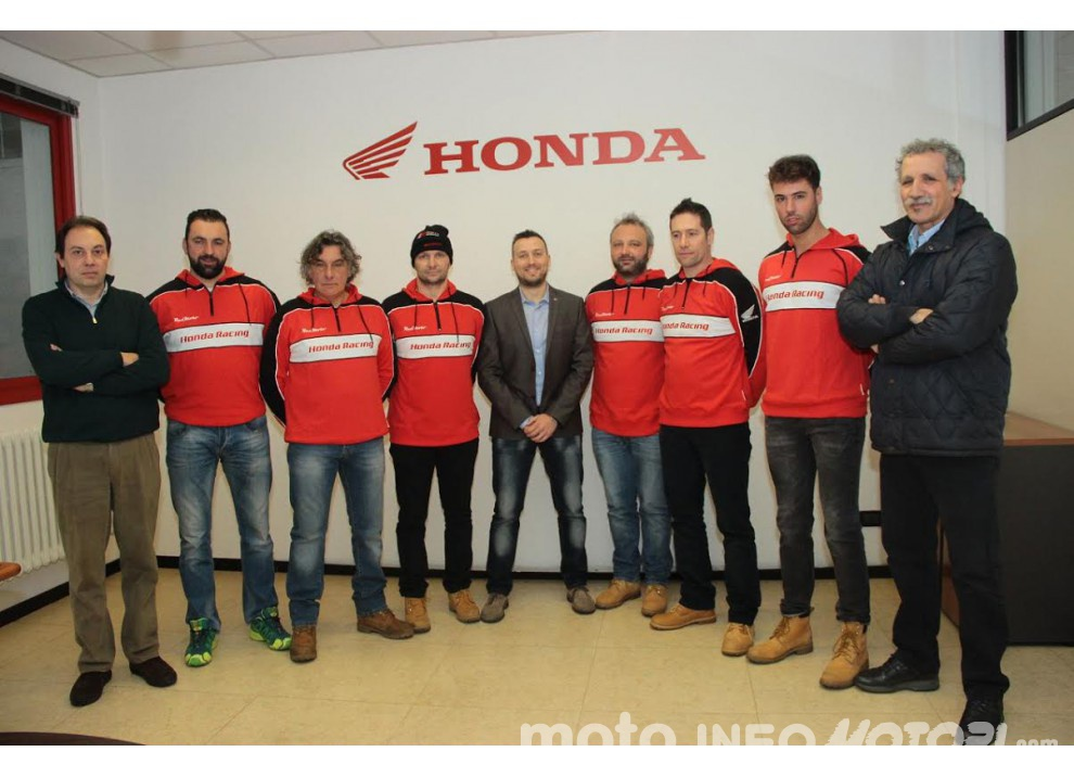 RS Moto Honda Rally Team insieme a RedMoto anche per la stagione 2016 - Foto 3 di 8