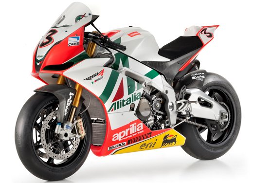 Aprilia RSV4 Biaggi Replica al Luxury Garage