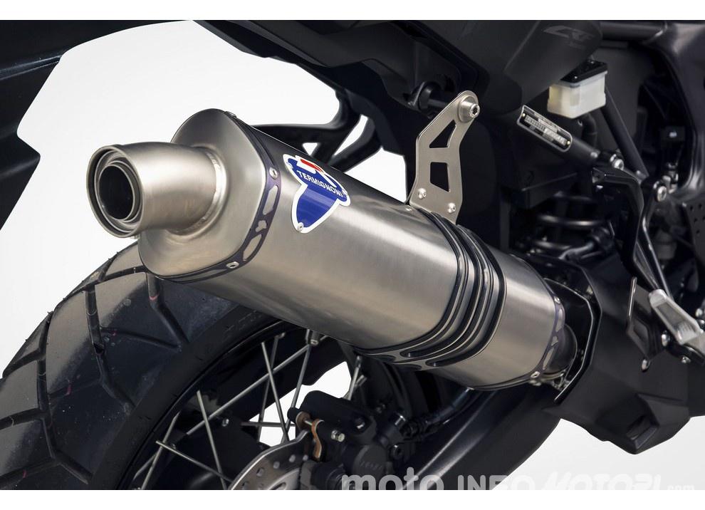 Scarico Termignoni per la nuova Honda CRF1000L Africa Twin - Foto 2 di 2