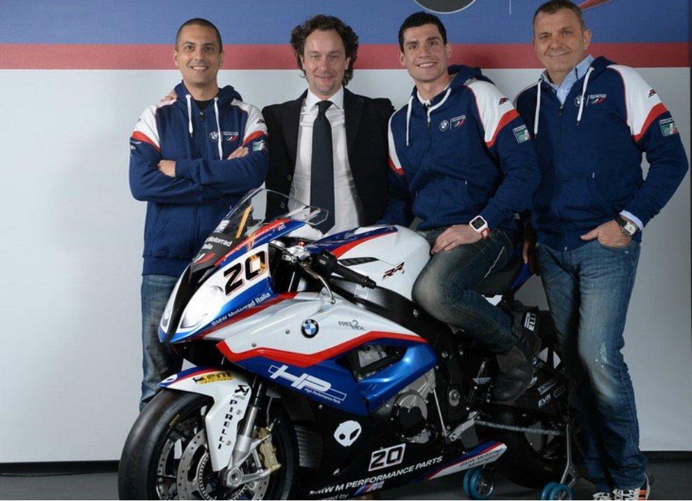 Superbike 2015, presentato il Team BMW Motorrad Italia - Foto 1 di 22