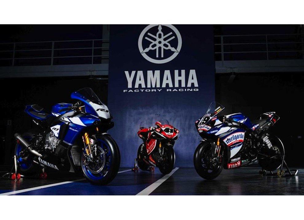 Superbike 2016, ritorno ufficiale di Yamaha con Guintoli, Lowes e un po' di Rossi - Foto 1 di 4